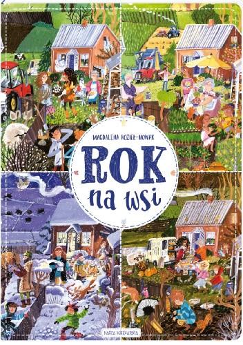 Okładka książki Rok na wsi Magdalena Kozieł-Nowak