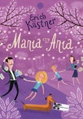 Okładka książki Mania czy Ania Erich Kästner