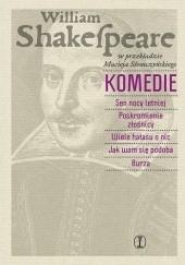 Okładka książki Komedie William Shakespeare