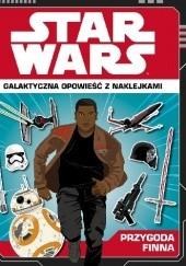 Okładka książki STAR WARS. Galaktyczna opowieść z naklejkami. Historia Finna. Emily Stead
