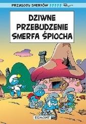Okładka książki Dziwne przebudzenie Smerfa Śpiocha Peyo