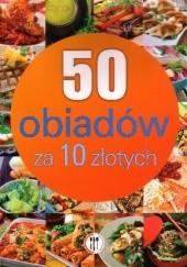 Okładka książki 50 obiadów za 10 zł Marta Szydłowska