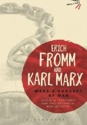 Okładka książki Marx's Concept of Man Erich Fromm