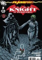 Okładka książki Flashpoint: Batman Knight of Vengeance #3