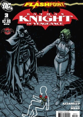 Okładka książki Flashpoint: Batman Knight of Vengeance #3 Brian Azzarello