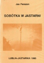 Okładka książki Sobótka w Jastarni Jan Perszon