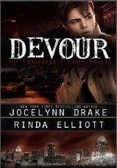 Okładka książki Devour Jocelynn Drake,Rinda Elliott
