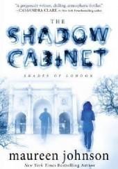 Okładka książki The Shadow Cabinet Maureen Johnson