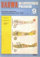 Okładka książki Samoloty wojskowe obcych konstrukcji 1918-1939. T. 4 Wiesław Bączkowski,Krzysztof Chołoniewski