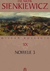 Okładka książki Nowele t. III Henryk Sienkiewicz