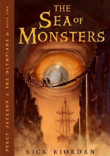 Okładka książki The Sea of Monsters (Percy Jackson and the Olympians #2) Rick Riordan