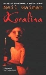 Okładka książki Koralina Neil Gaiman
