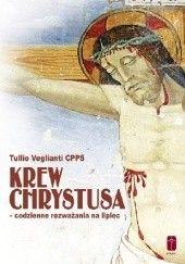 Okładka książki Krew Chrystusa - codzienne rozważania na lipiec Tullio Veglianti