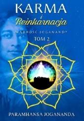 Okładka książki Karma i Reinkarnacja Paramahansa Jogananda