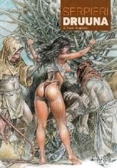 Okładka książki Druuna #2: Stwór. Drapieżna Paolo Eleuteri Serpieri