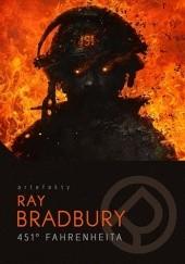 Okładka książki 451° Fahrenheita Ray Bradbury