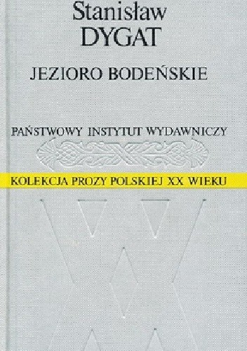Okładka książki Jezioro Bodeńskie Stanisław Dygat
