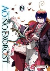 Okładka książki Ao No Exorcist 19 Kato Kazue