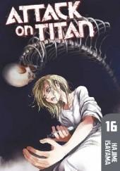 Okładka książki Attack on Titan #16 Isayama Hajime