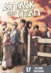 Okładka książki Attack on Titan #17 Isayama Hajime