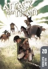 Okładka książki Attack on Titan #20 Isayama Hajime