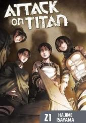 Okładka książki Attack on Titan #21 Isayama Hajime