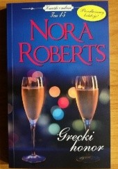Okładka książki Grecki honor Nora Roberts