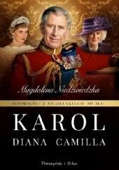 Okładka książki Opowieści z angielskiego dworu. Karol Magdalena Niedźwiedzka