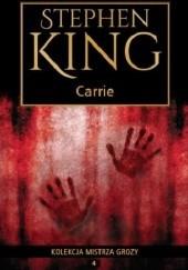 Okładka książki Carrie Stephen King