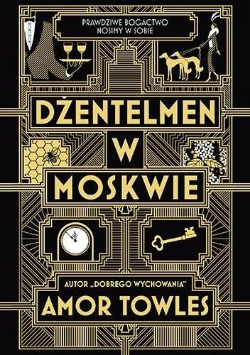 Okładka książki Dżentelmen w Moskwie Amor Towles
