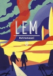 Okładka książki Astronauci Stanisław Lem