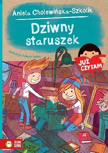 Okładka książki Dziwny staruszek Aniela Cholewińska-Szkolik