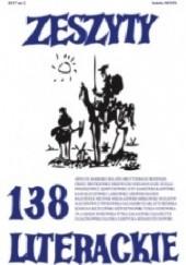 Okładka książki Zeszyty Literackie nr 138 (2/2017) Redakcja kwartaln. Zeszyty Literackie