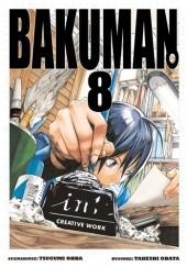 Okładka książki Bakuman #8 Tsugumi Ohba,Takeshi Obata