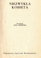 Okładka książki Niezwykła kobieta Jules Romains