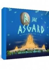 Okładka książki A jak Asgard Natalia Hluzow