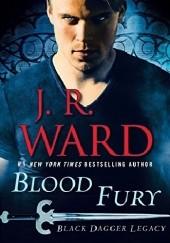 Okładka książki Blood Fury J.R. Ward