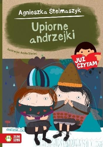 Okładka książki Upiorne andrzejki Agnieszka Stelmaszyk