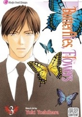 Okładka książki Butterflies, Flowers, Vol. 3