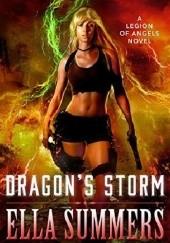 Okładka książki Dragons Storm Ella Summers