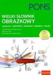Okładka książki Wielki słownik obrazkowy LektorKlett