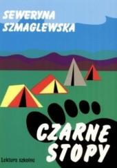 Okładka książki Czarne Stopy Seweryna Szmaglewska
