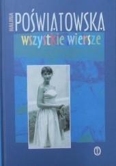 Okładka książki Wszystkie wiersze Halina Poświatowska