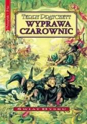Okładka książki Wyprawa czarownic Terry Pratchett