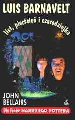 Okładka książki Luis Barnavelt, list, pierścień i czarodziejka John Bellairs