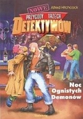 Okładka książki Noc Ognistych Demonów Alfred Hitchcock,Aleksander Minkowski