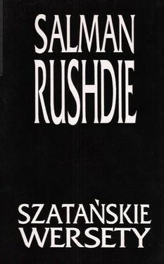 Okładka książki Szatańskie wersety Salman Rushdie