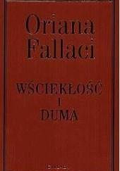 Okładka książki Wściekłość i duma Oriana Fallaci