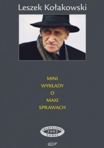 Okładka książki Mini wykłady o maxi sprawach. Trzy serie