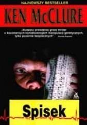 Okładka książki Spisek Ken McClure